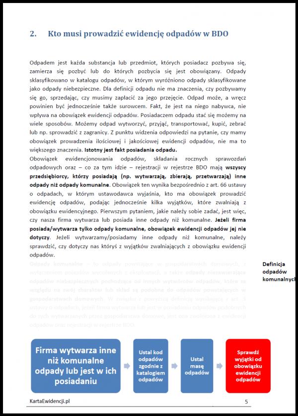 Przykładowe strony poradnik BDO